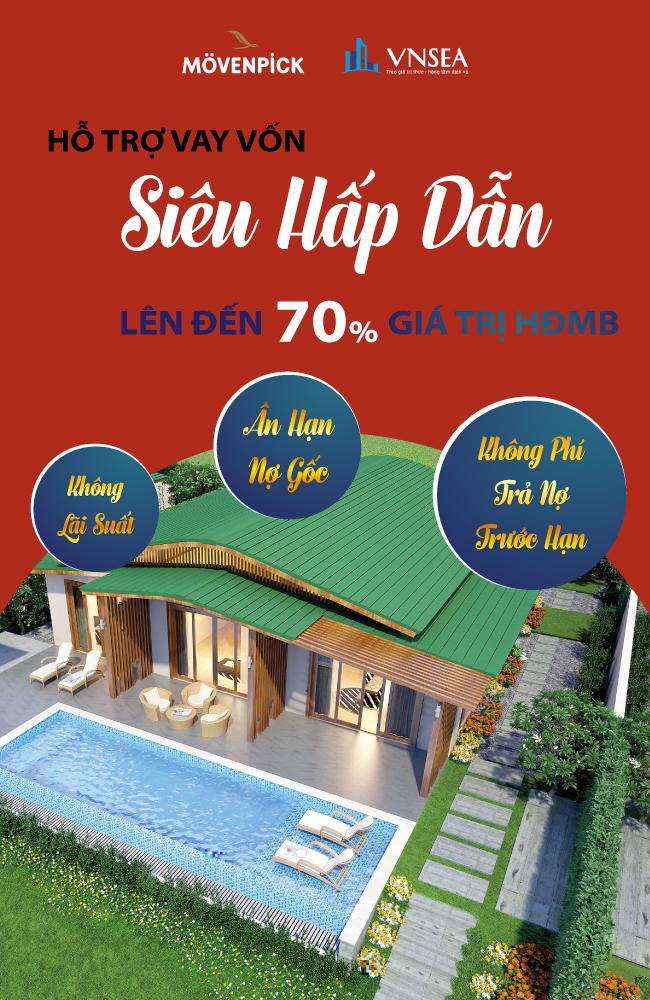 Biệt thự biển Movenpick Cam Ranh
