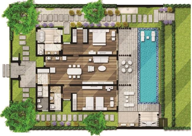 Mặt bằng dự án Movenpick Cam Ranh Resort