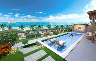 Biệt thự cạnh biển nghỉ dưỡng Movenpick