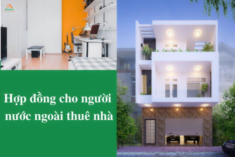 hợp đồng thuê nhà cho người nước ngoài